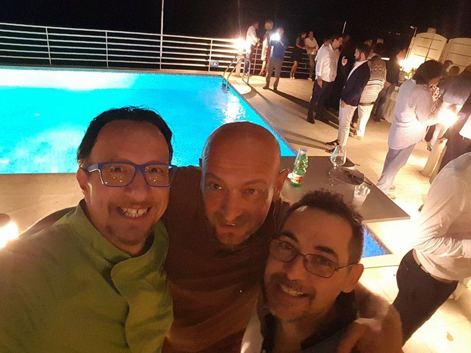 Giovanni, Nicola e Maurizio (selfie di Giovanni Santarpia)