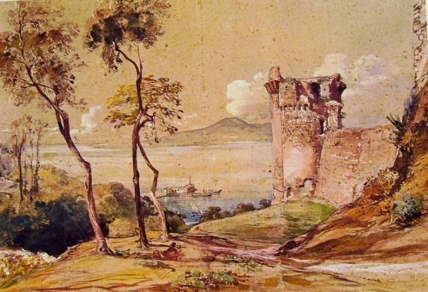 Il Castello di Castellammare, Giacinto Gigante