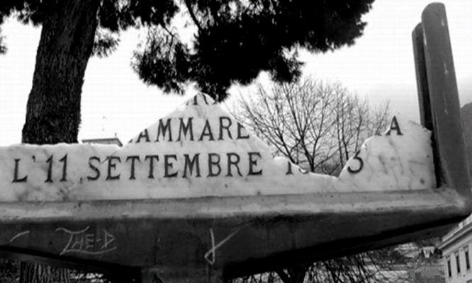 La Memoria in frantumi (foto Antonio Cimmino)