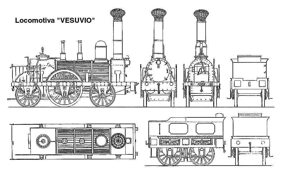 Locomotiva Vesuvio-Bayard