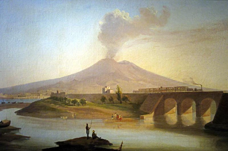 Ponte sul Fiume Sarno, Salvatore Fergola