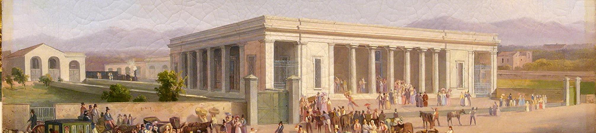 Stazione di Castellammare, Salvatore Fergola, particolare