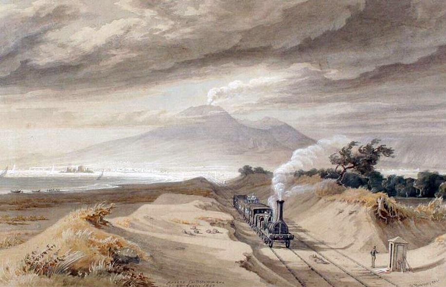 Presso Castellammare, Georg Heinrich Busse – 26 luglio 1843, galleria Liberoricercatore