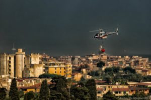 In volo su Castellammare - Monte Pendolo 4 agosto 2017