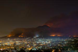 Vesuvio 11 luglio 2017