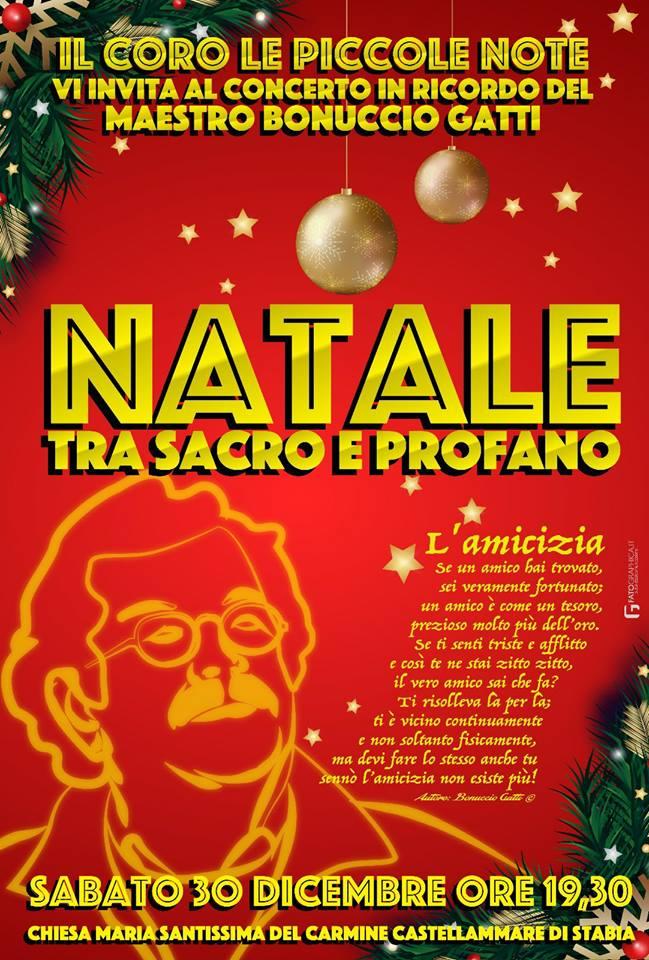 Natale tra sacro e profano