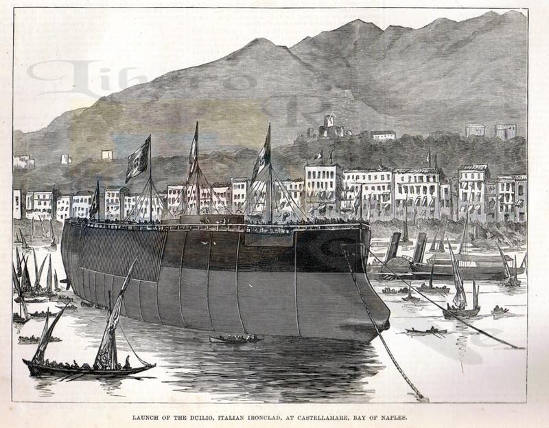 Duilio1876, tratta da l'Illustrated London, proprietà Giuseppe Zingone