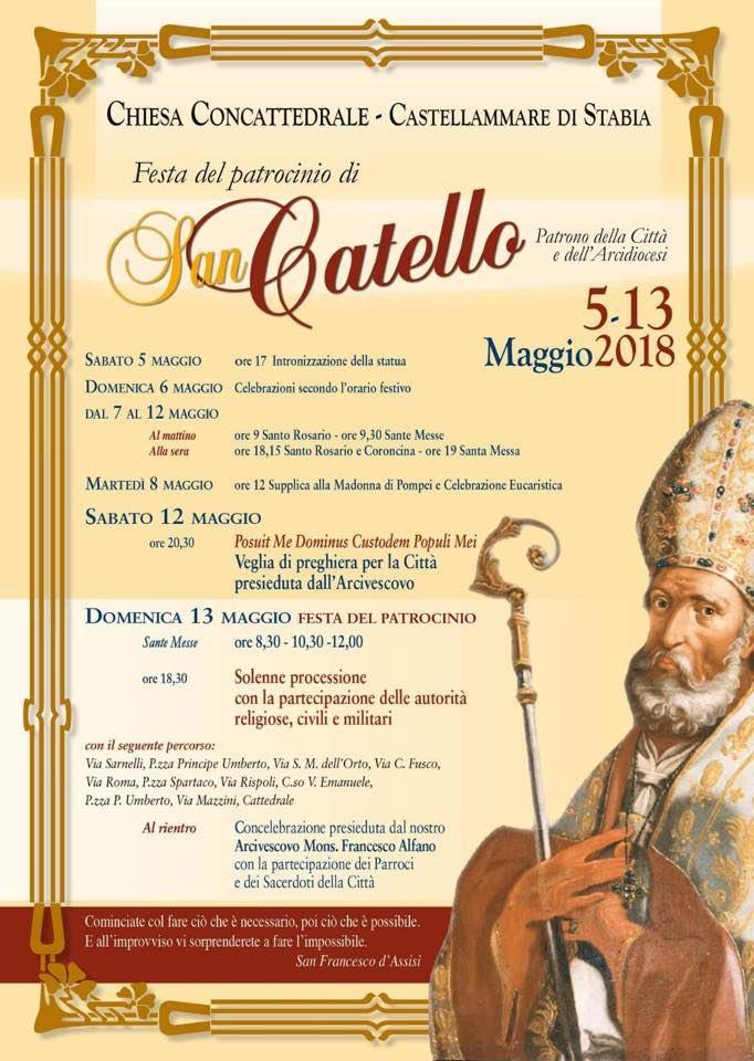 Locandina San Catello 2018