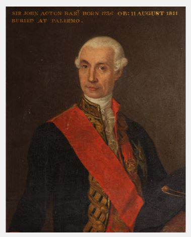 Giovanni Griffoni, Sir John Francis Edward Acton, 6th Baronet (1735-1811), Coughton Court, Warwickshire, Midlands, National Trust