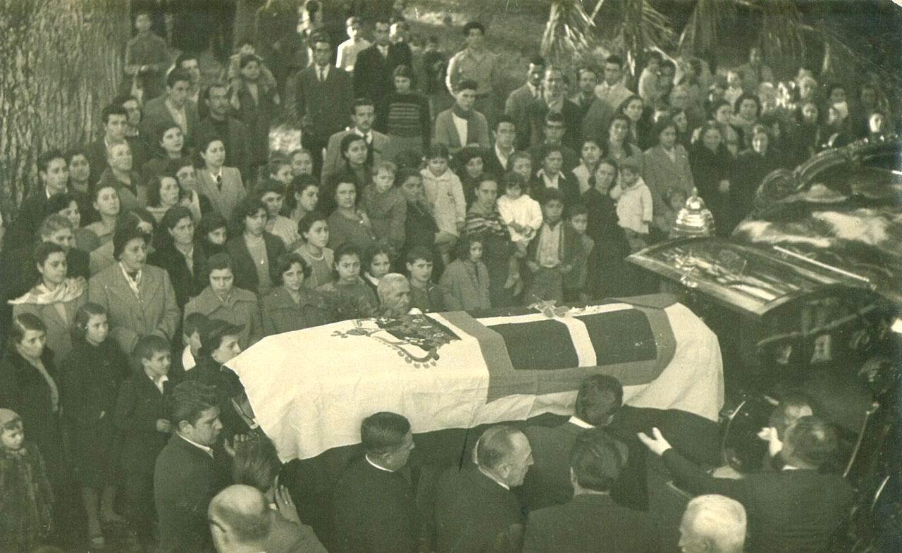 Il corteo funebre