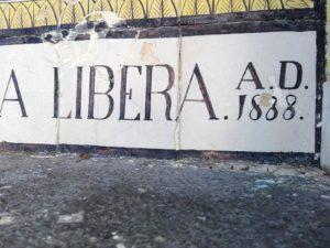 Madonna della Libera - Anno 1888