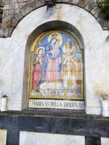 Madonna della Libera - maiolica