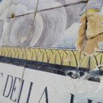 Madonna della Libera - maioliche scalfite