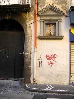 Edicola alla via Marconi (foto Maurizio Cuomo)