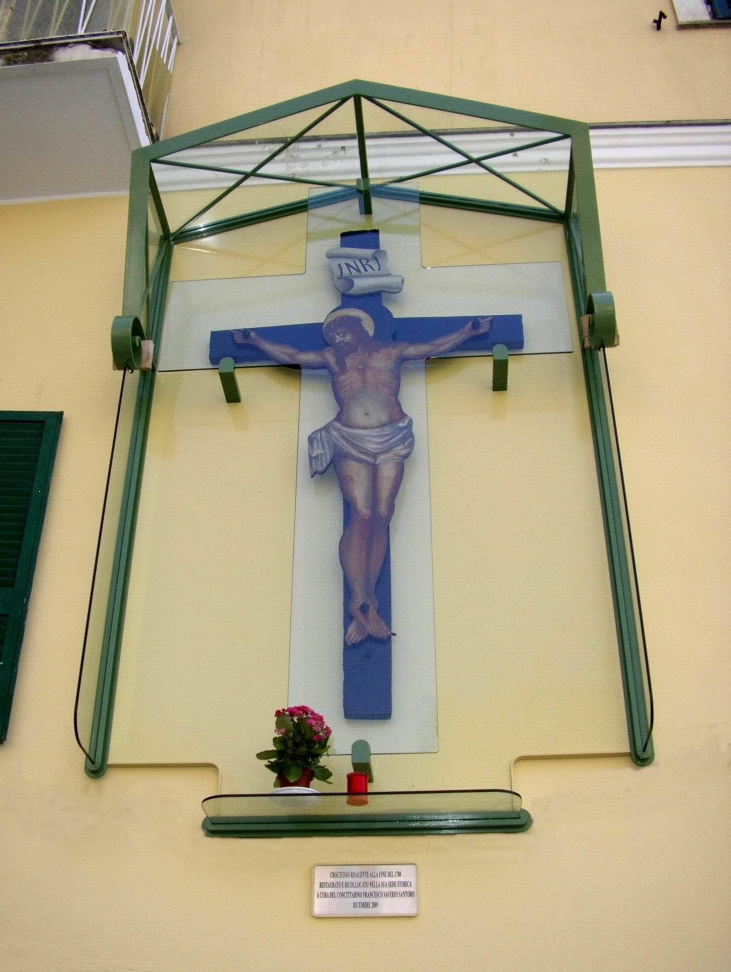 Crocifisso di Piazza Orologio (foto Maurizio Cuomo)
