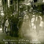 La piazzetta delle Acque Minerali - 1908