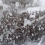 La sfilata dei carri allegorici - Carnevale 1969
