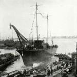 R. Cantiere 1926 - Varo del posamine Buccari