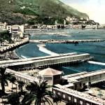 Stabilimenti balneari al lungomare Garibaldi (il lido la Limpida)