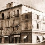 La vecchia struttura dell'Ospedale civico (anni '50)