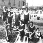 La spiaggia negli anni '20