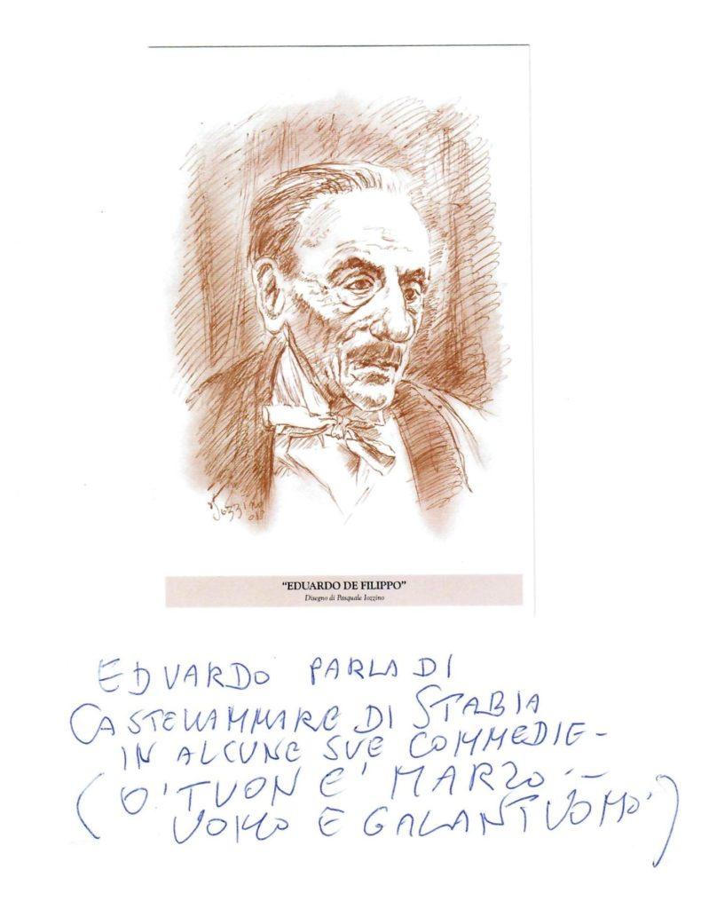Eduardo De Filippo (opera del porf. Pasquale Iozzino)