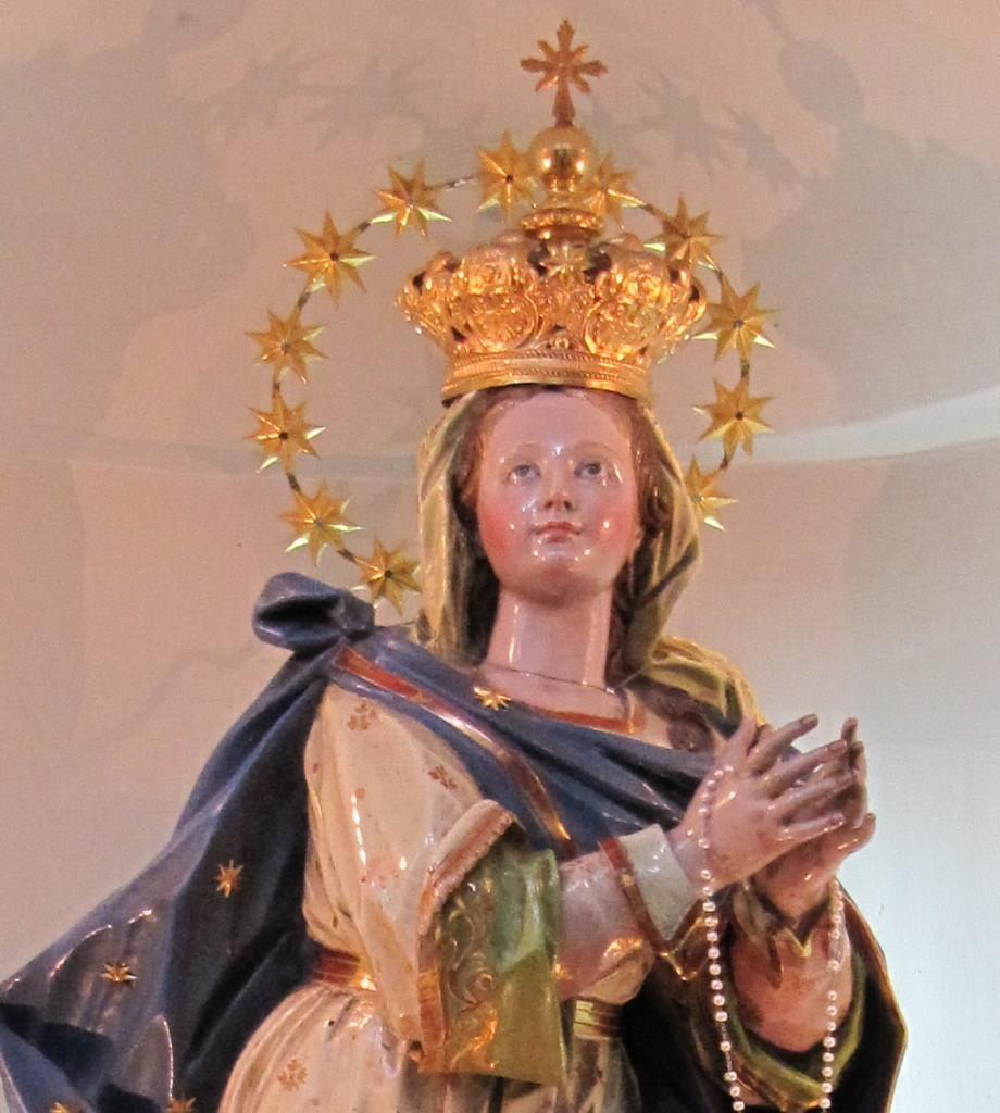 Maggio, un anno a Castellammare: l'Immacolata della Chiesa di San Giacomo