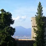 Il Vesuvio dal Castello