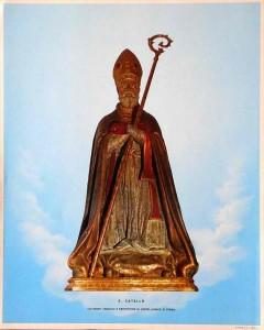 San Catello: immagine 25X31 (Rinaldini & C. - Napoli)