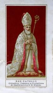San Catello: immaginetta (Modena, Società Lit. S.Giuseppe 1904)