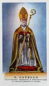 San Catello: immaginetta (Edizioni S.r.l. Rinaldini & C. - Napoli)