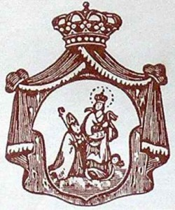 San Catello: logo stilizzato (Reale Arciconfraternita dell'Immacolata Concezione e San Catello - Chiesa di San Giacomo Maggiore di Castellammare di Stabia)