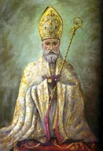 San Catello: quadro di Francesco Filosa (Seminario diocesano)