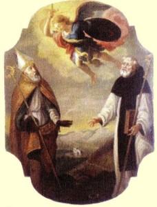 San Catello: dipinto conservato nella chiesa di San Michele a Ticciano (opera realizzata pochi anni fa dal pittore Pasquale Russo).