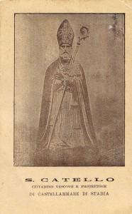 San Catello: cartolina inizio anni '50 (su gentile concessione del sig. Enzo Cesarano).