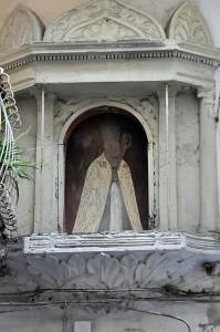 Edicola votiva di San Catello alla via Rispoli (foto Enzo Cesarano).