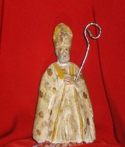 Statuetta in creta risalente ai primissimi anni '50 (Coll. priv. dott. Tullio Pesola)