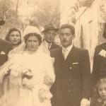 Matrimonio a Scanzano (anno 1946)