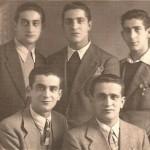 Andrea, Alfonso, Raffaele, Luigi e Mario Correale
