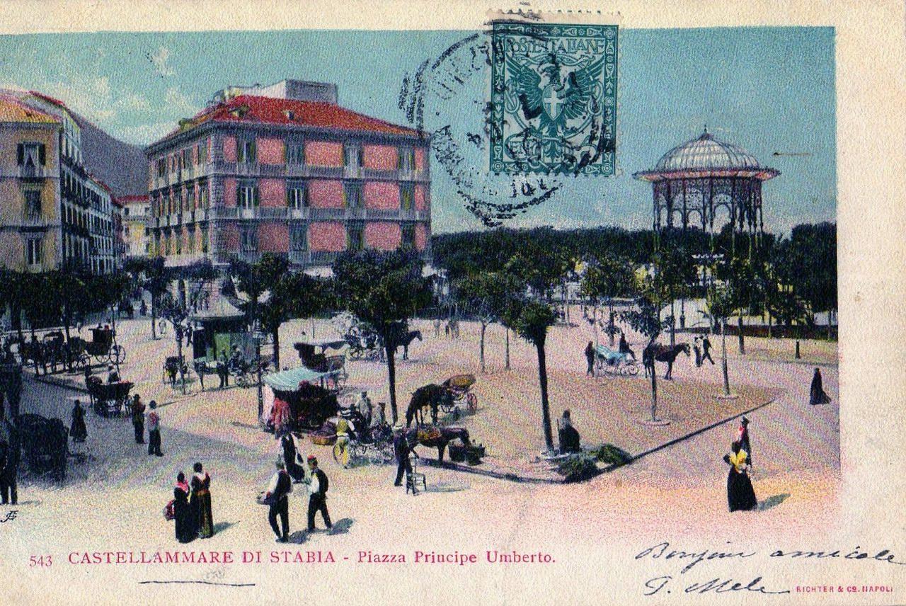 Castellammare di Stabia - Piazza Principe Umberto (coll. Enzo Cesarano)