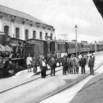 Interno stazione (anno 1910)