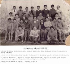 Media Stabiae (anno 1952 - '53)