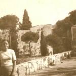 La sig.ra Rosato e la casa del guardiaboschi