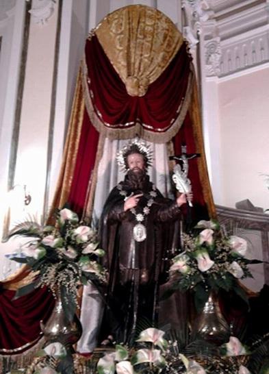 La statua di San Ciro