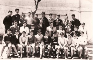 scuola media Stabiae- anno 1960