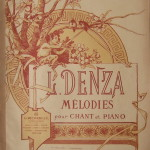 Luigi Denza: le Melodie.