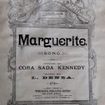 Luigi Denza: Marguerite.