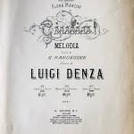 Luigi Denza: Melodia.