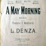 Luigi Denza: A may morning.