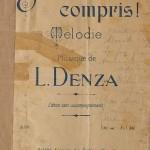 Luigi Denza: Si vous l'aviez compris!